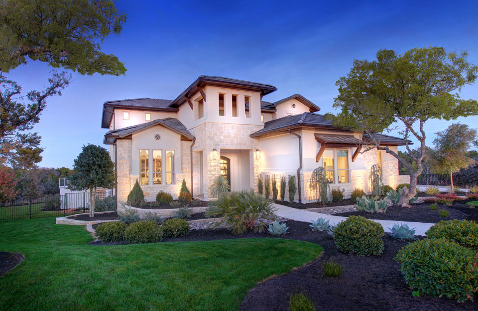 Model homes exterior pictures